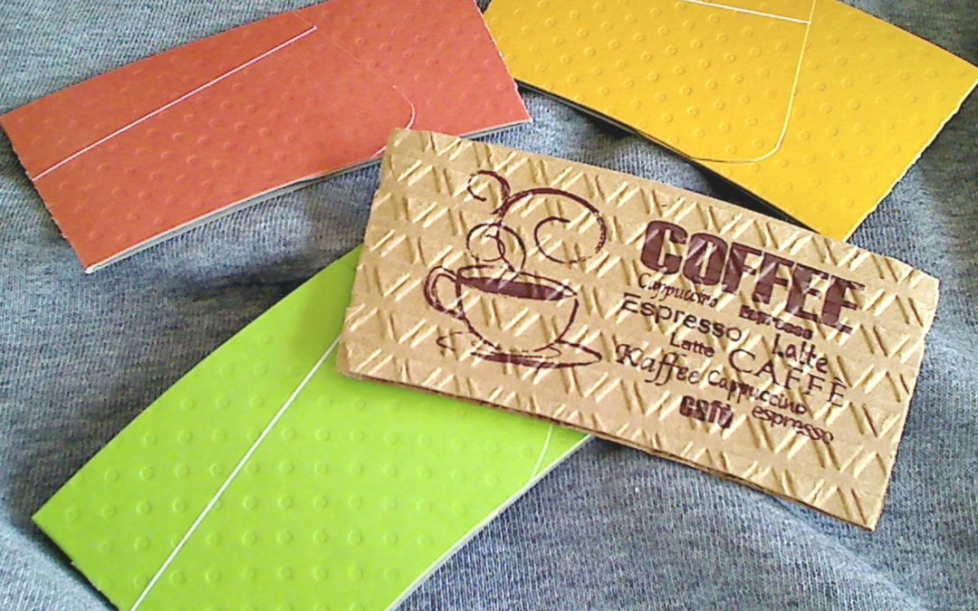 Altered Coffee Sleeves