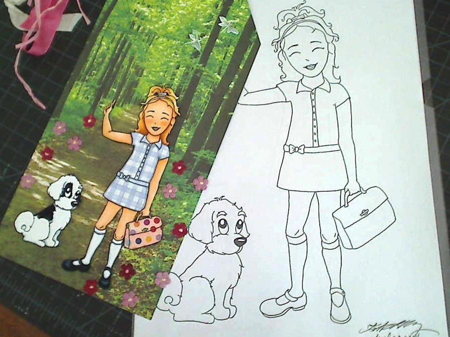 """Lexi Trains Puppy""- New Custom Digi"
