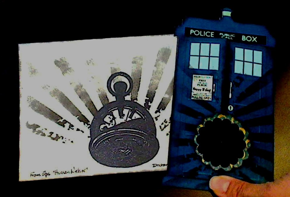 Doctor Who Exploding Tardis Magical Marquee Card