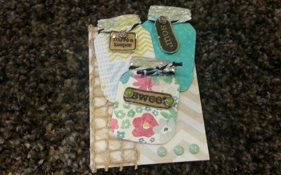 "ATC a Day (2 of 7) – ""Sweet and Sour"""