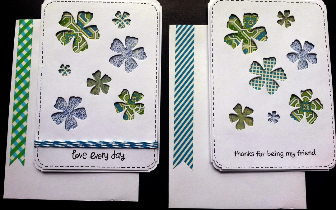 CAS Card Tutorial with Diemond Dies Sugarplum Dies