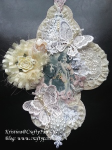 4GDT-Shabby Chic Wall Hanging