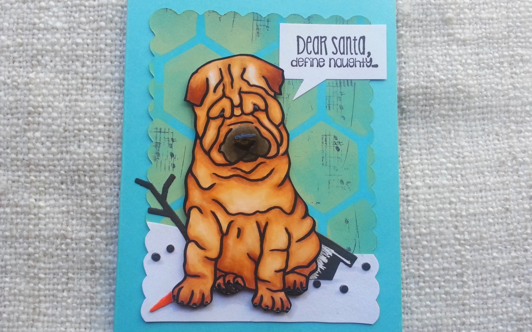 """Sweet Shar Pei"" – FREE digi of the Week! + Winner!"