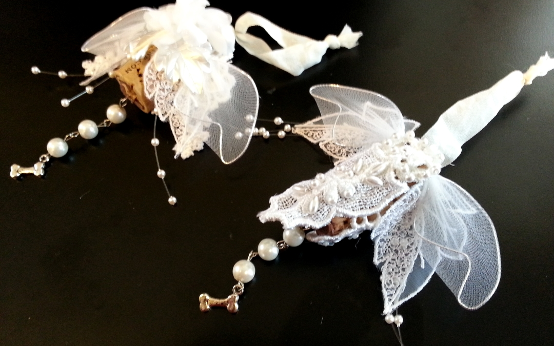 Shabby Chic Cork Ornaments + Video Tutorial + XMAS SALE!!!
