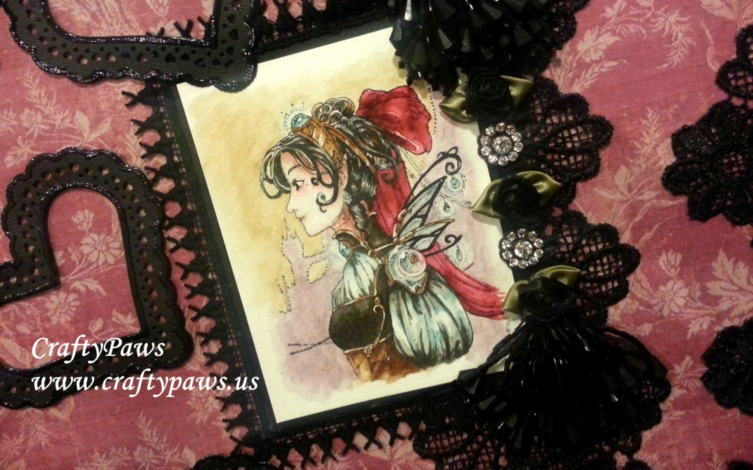 Steampunk Valentine Layout – MelsCraftBoutique GDTP