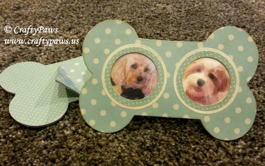 Diy Picture Frames Diemond Dies Winter Themed Hop Craftypaws