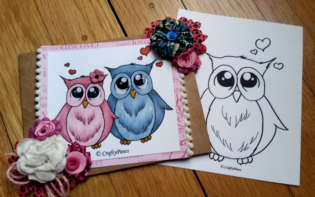 """OWL Be Your Valentine"" and ""OWL Always Love You"" – FREE Digis!"