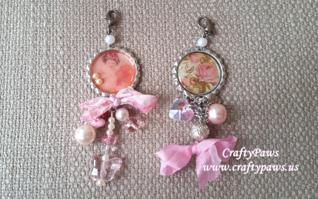 My First Bottle Cap Charms