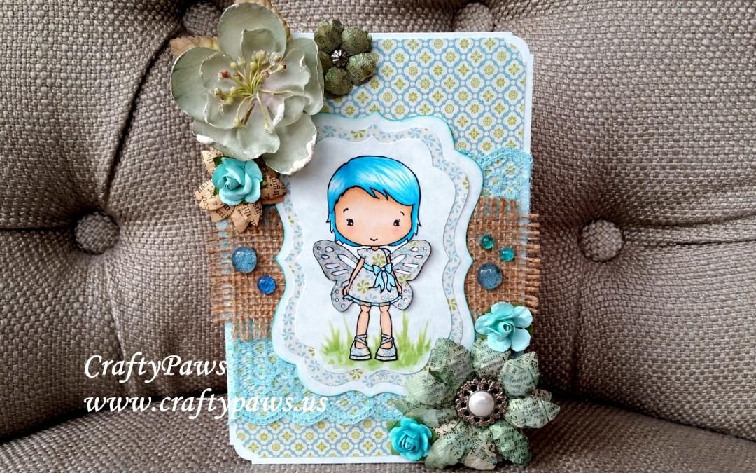 Spring Fairy Card