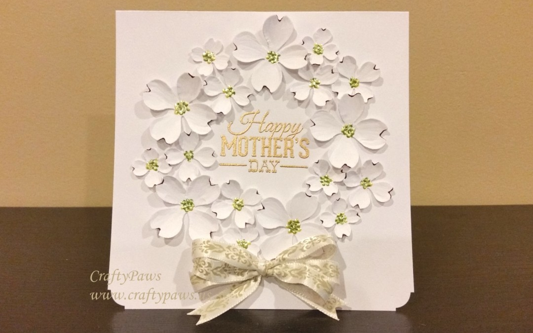 Elegant mother s day card craftypaws for Classy mothers day cards
