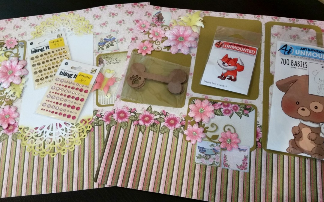 Scrapbook Expo Review + Giveaway