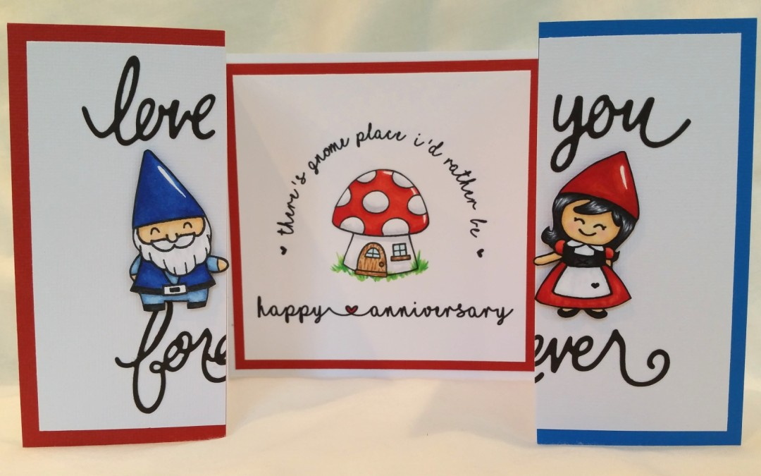 CAS Anniversary Card + Free Digi Stamp