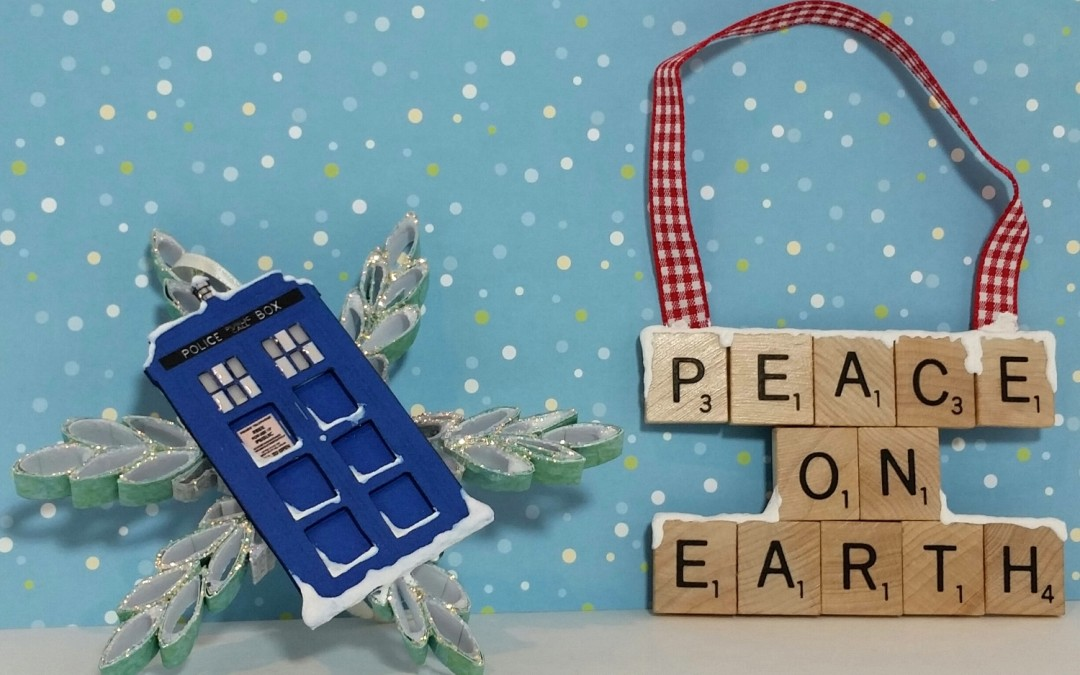 DIY Doctor Who and Primative Ornaments