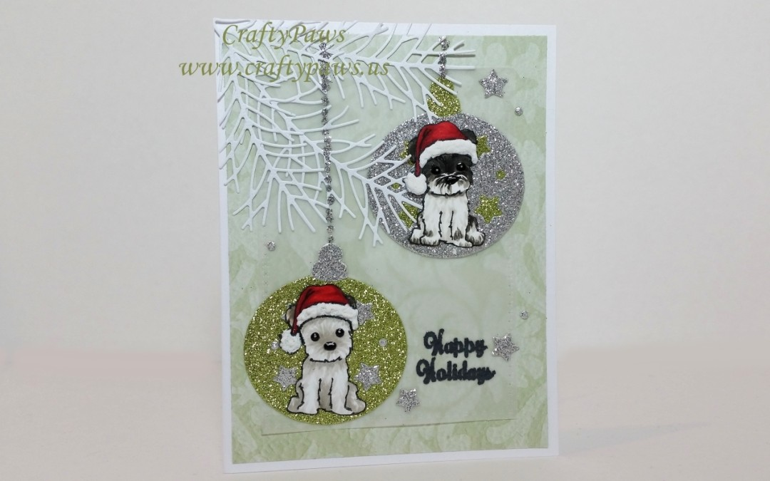 Another Doggy Christmas Card + Diemond Dies Sale!