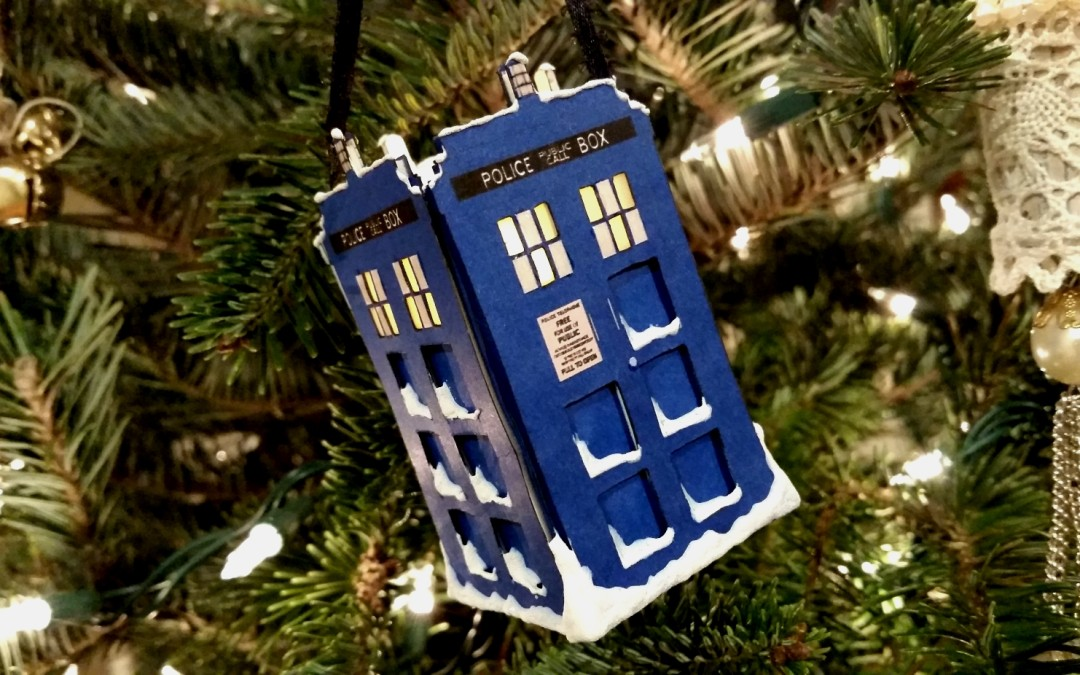 DIY 3D Light Up Doctor Who Ornament!