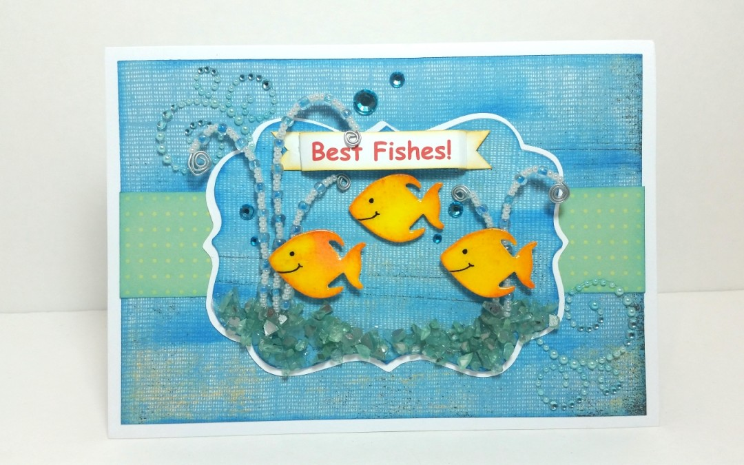Best Fishes Card for a Friend Celebrating End of Chemo–YAY!
