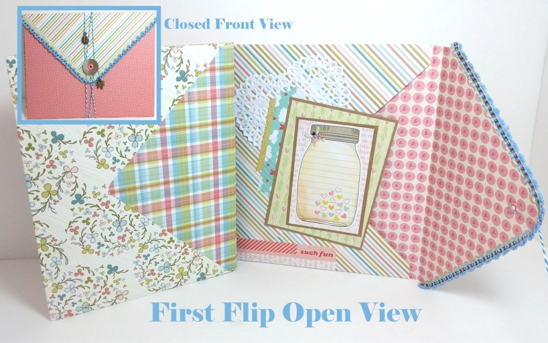 My First Envelope Flip Book