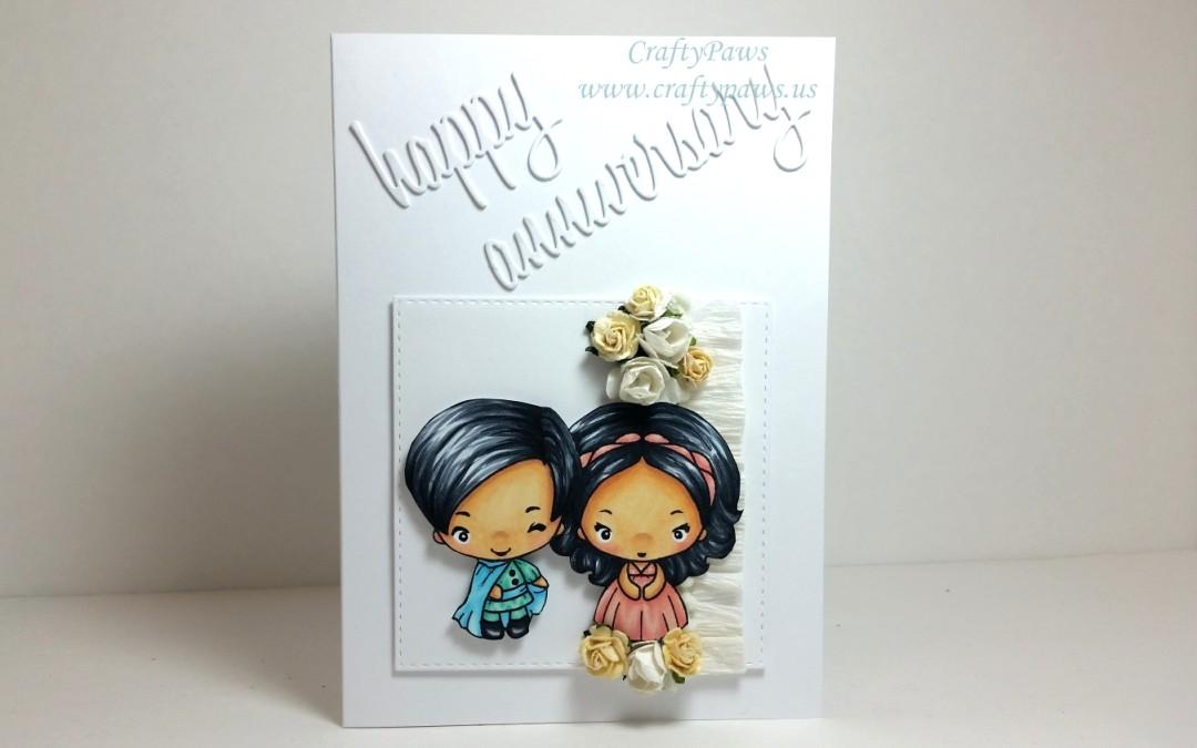 Springtime Anniversary Card