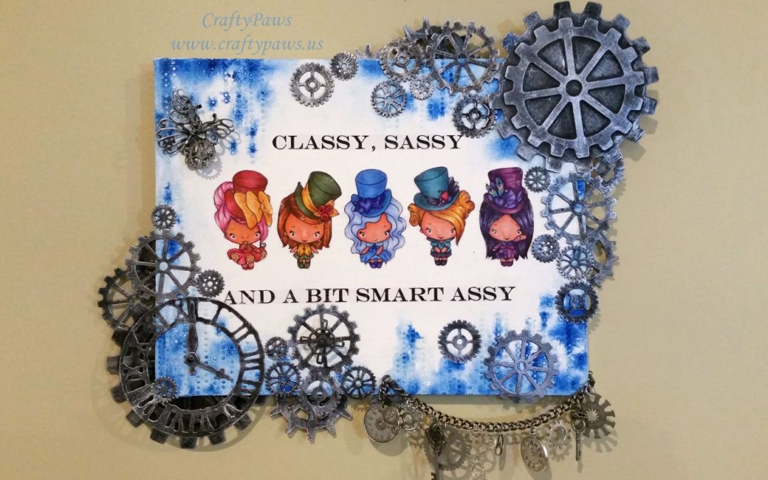 Cutsie Steampunk Canvas
