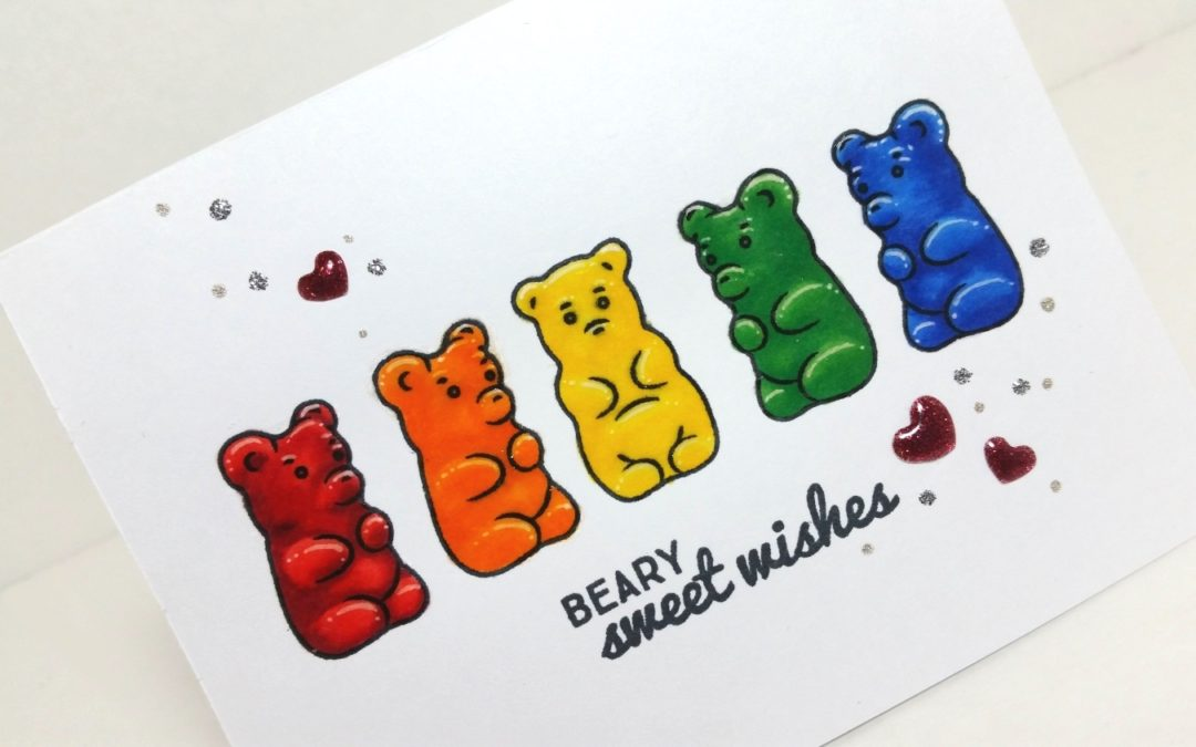 Rainbow Gummy Bears!