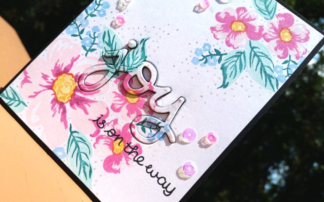 Elegant Welcome Baby Card
