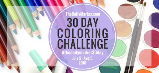 30 Day Coloring Challenge is Back!