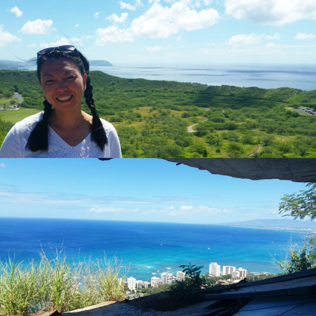 Hiked up Diamond Head to see 360 panoramic views of Honolulu. I got dizzy from hyperventilating but #totallyworthit