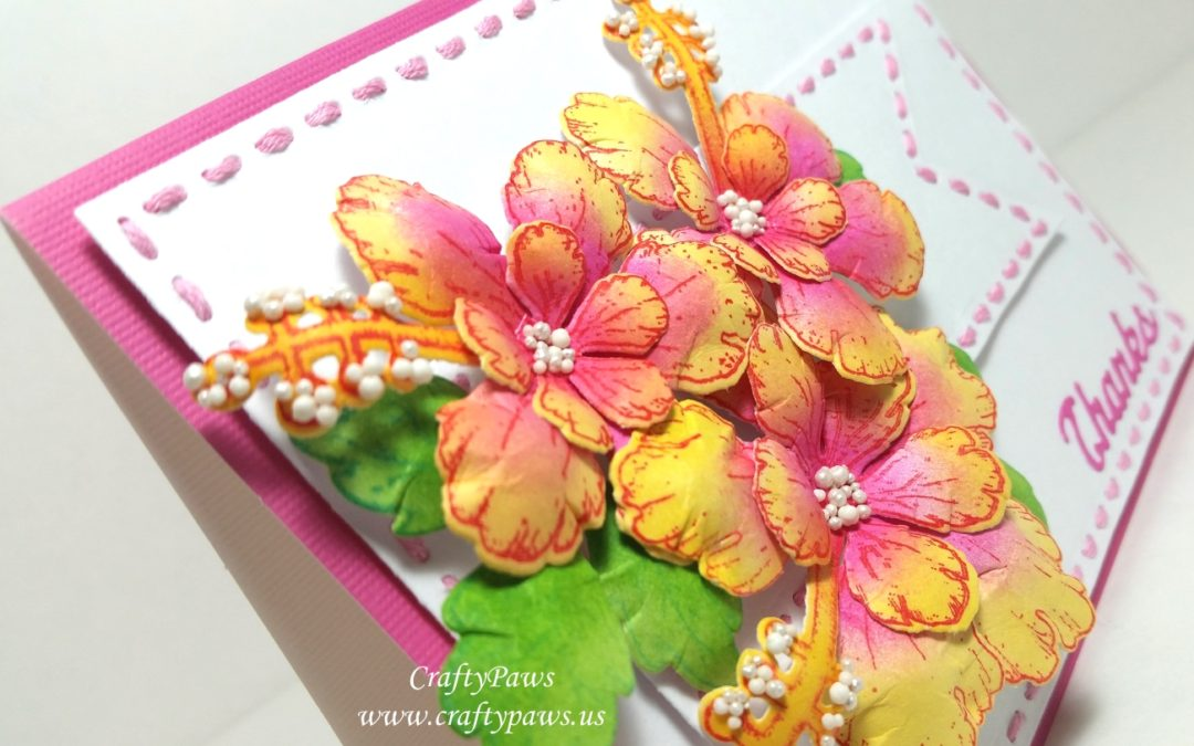 Easy Dimensional Floral Card
