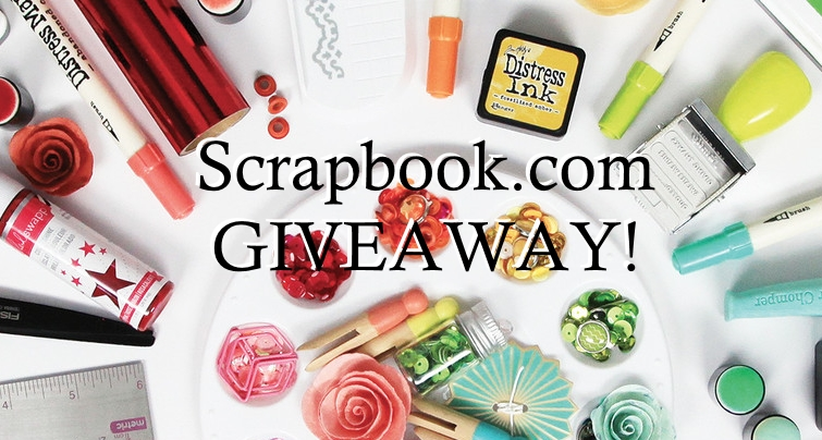 Scrapbook.com is Having an Awesome GIVEAWAY!