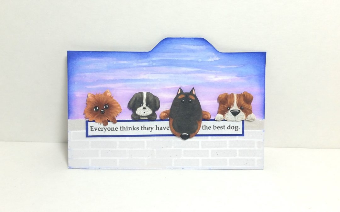 Doggy Index Card for a Fellow Dog Loving Friend