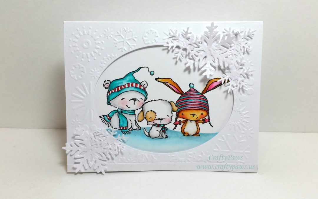Winter Critters Holiday Card