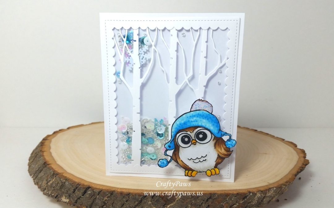 Shaker Wobbler Card – So Fun!