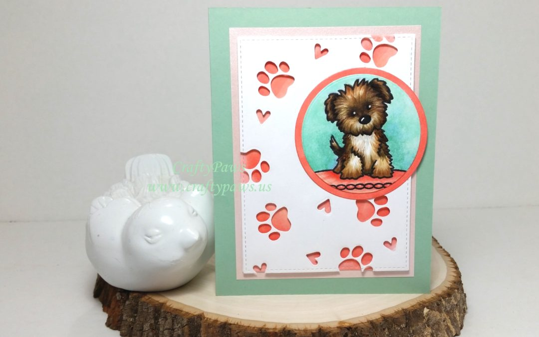 Custom Puppy Love Card