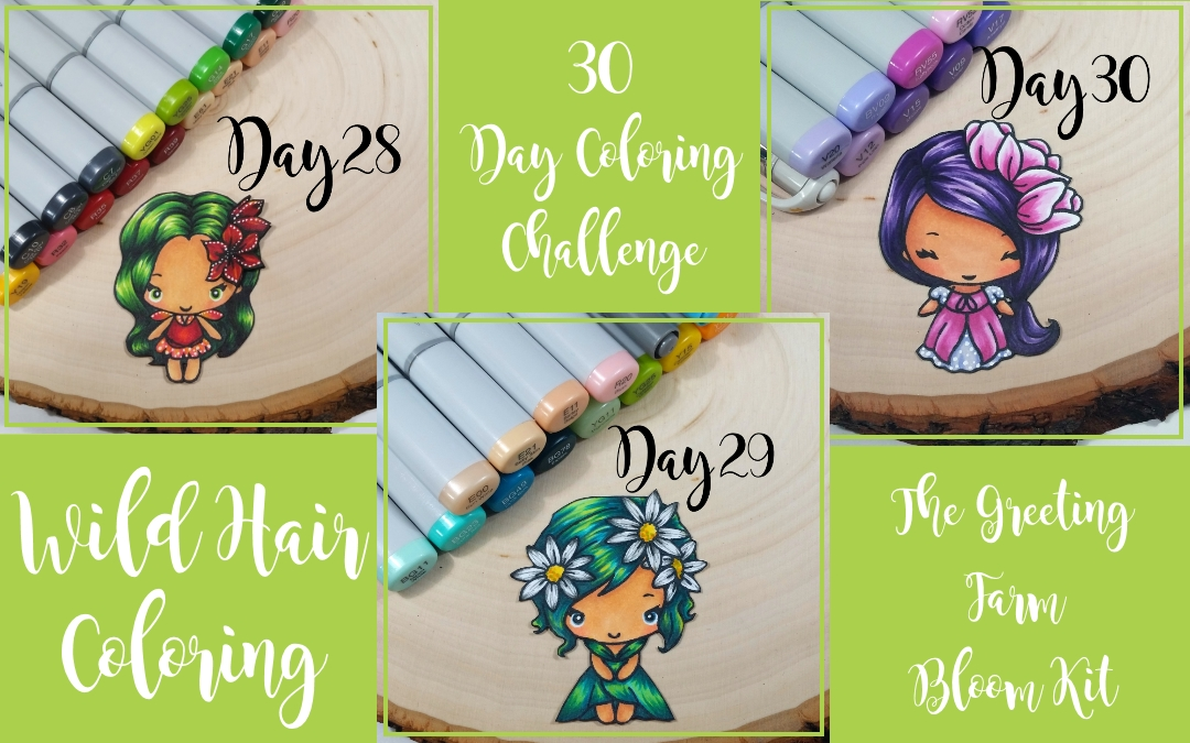 30 Day Coloring Challenge + Updated Canvases