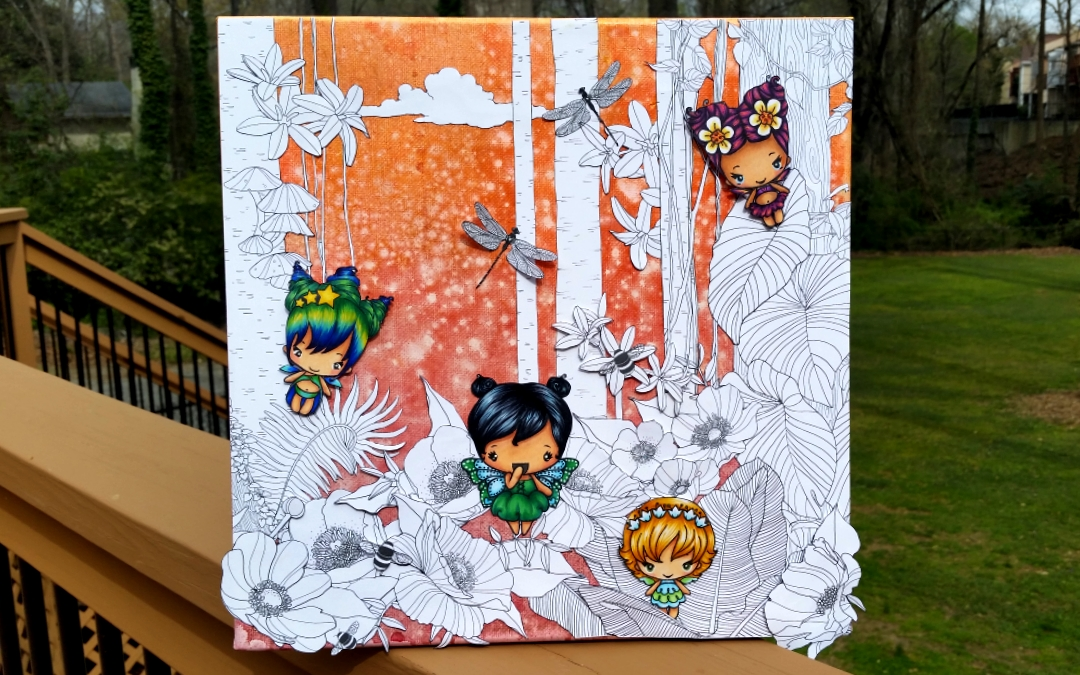 Fairy Forest Canvas II
