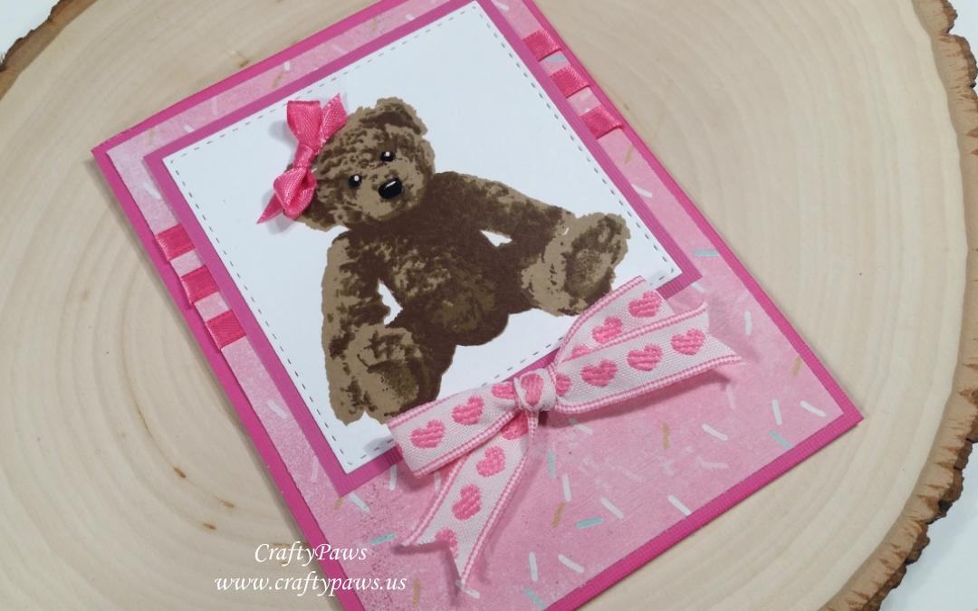 Bear-y Special Birthday Card