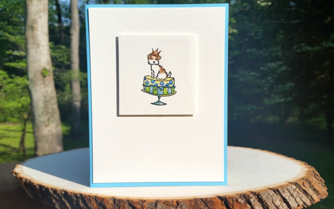 Personalized CAS Birthday Card
