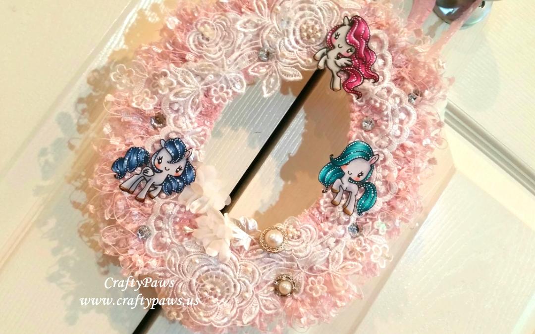 Spring Fantasy Wreath