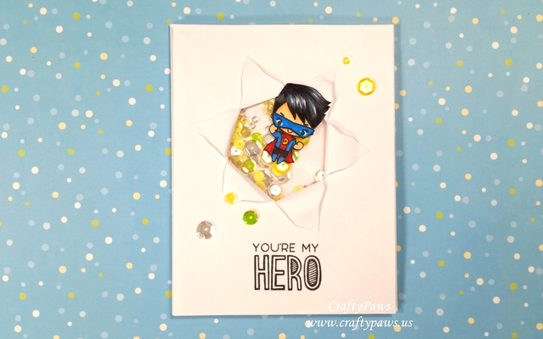 Masculine Birthday Cards 1 of 3: You're My Hero