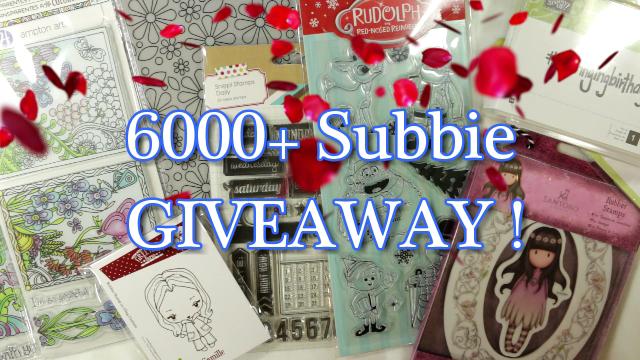 6000+ Subbie Giveaway!