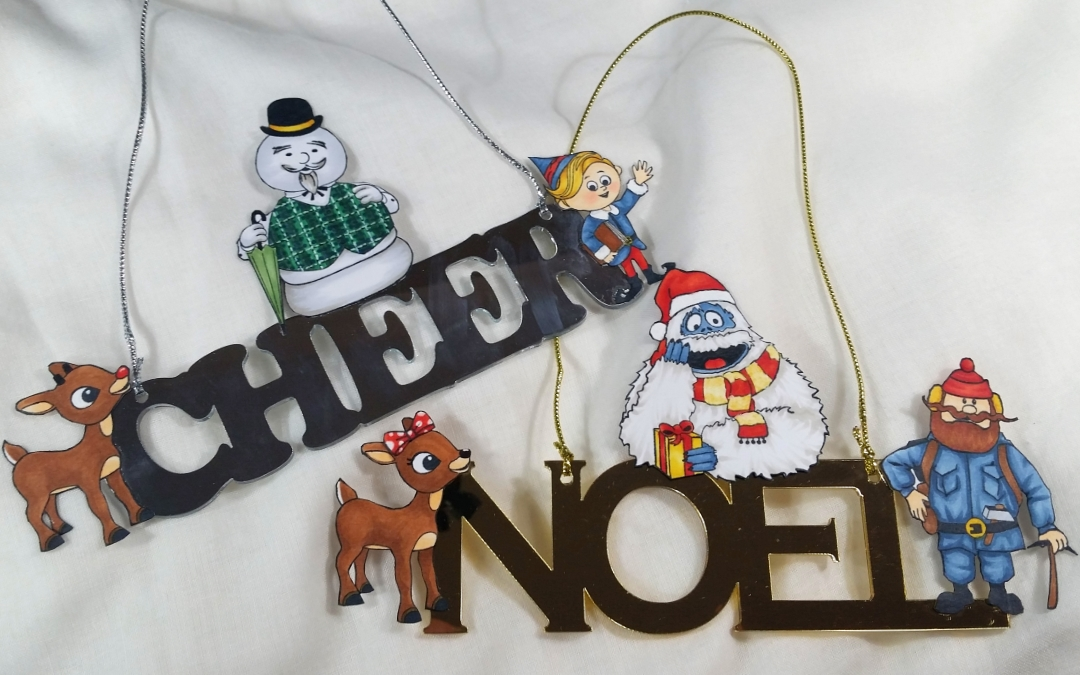 Rudolph the Red Nosed Reindeer Ornaments