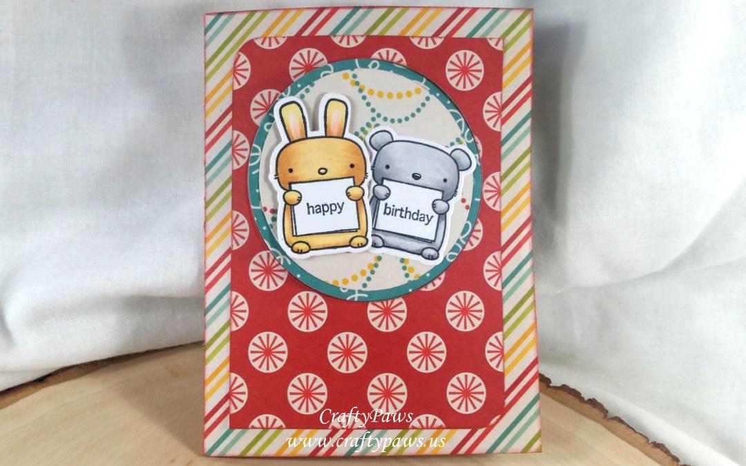 Pop Up Flip Fun Fold Birthday Card