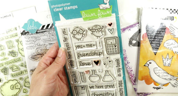 How a Compulsive Crafter Keeps Her Stamps Clean