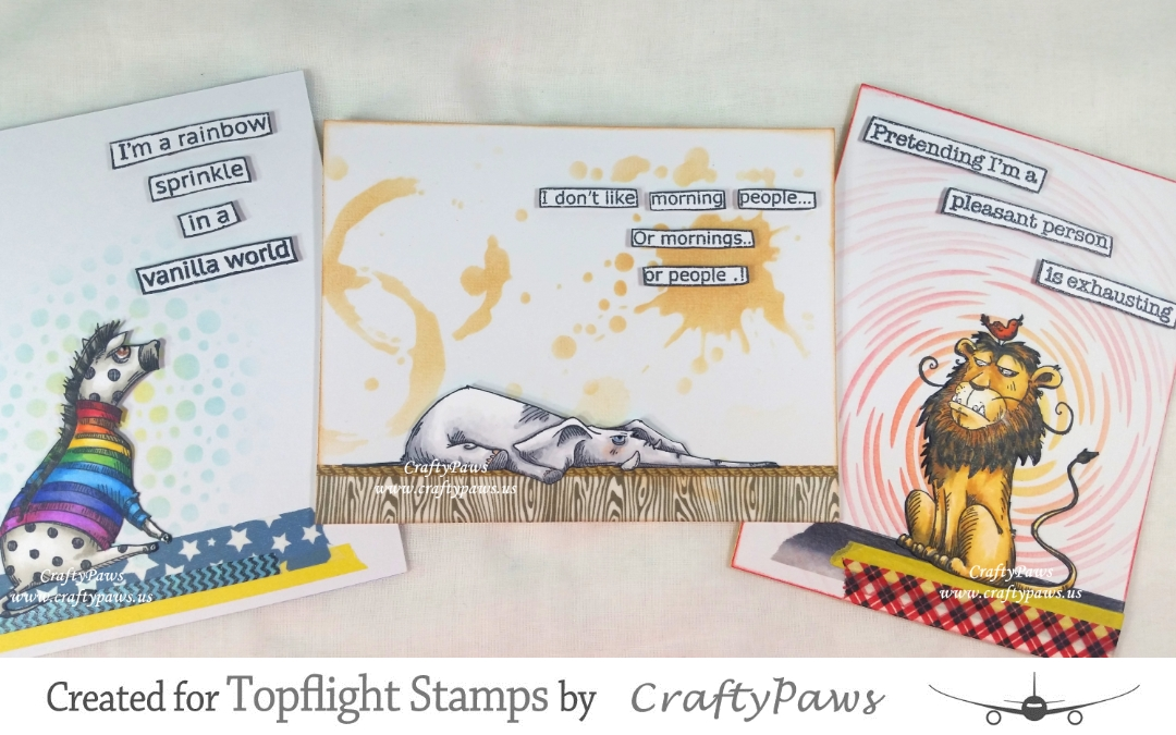 Topflight Stamps 1st Birthday Blog Hop + GIVEAWAYS