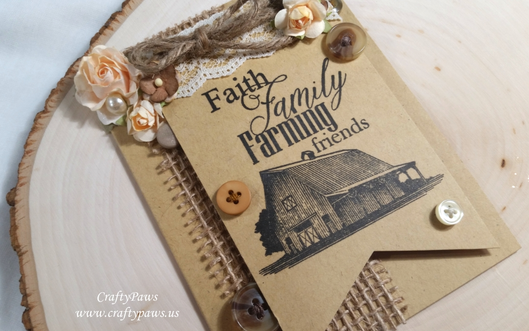 Prim Faith Family Friends Card
