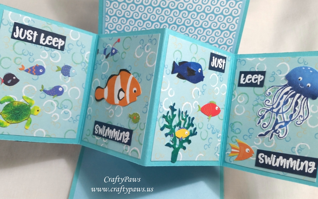 At the Sea Twist Pop Scene Card – Scrapping For Less Hop