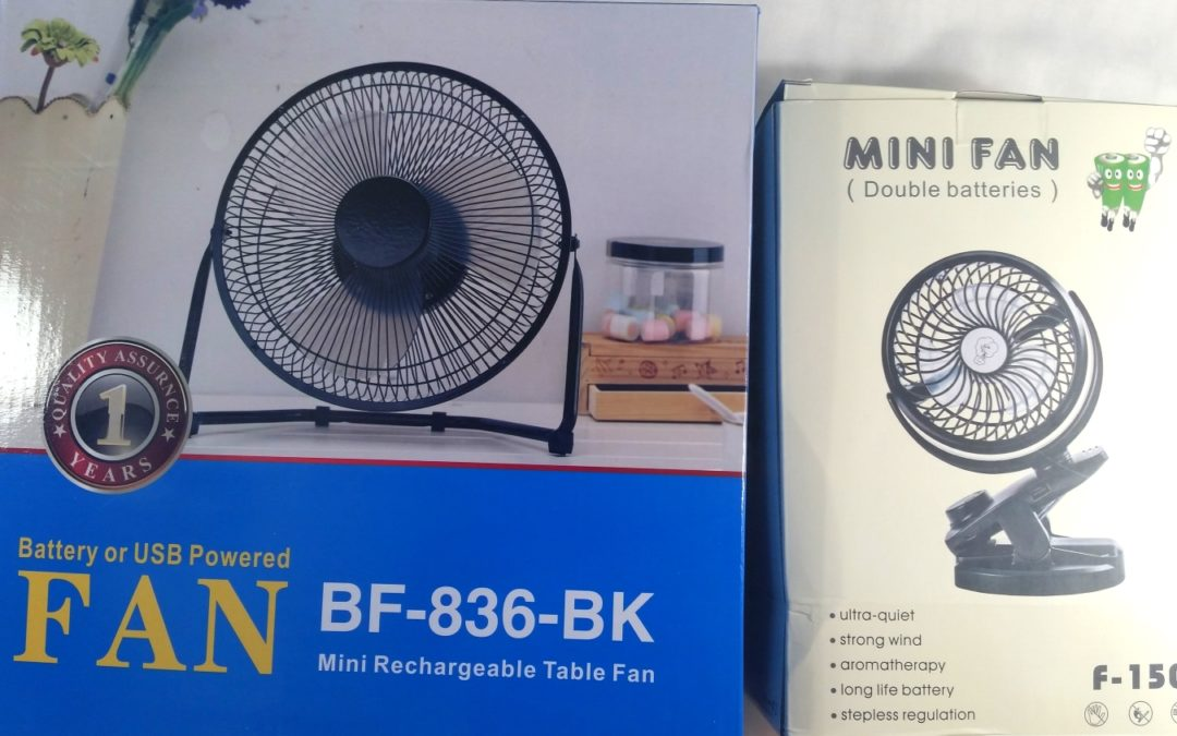 Small USB Desk and Portable Clip-On Fan Reviews