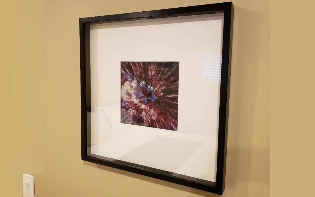 Exploding Tardis Diamond Painting! + GIVEAWAY!