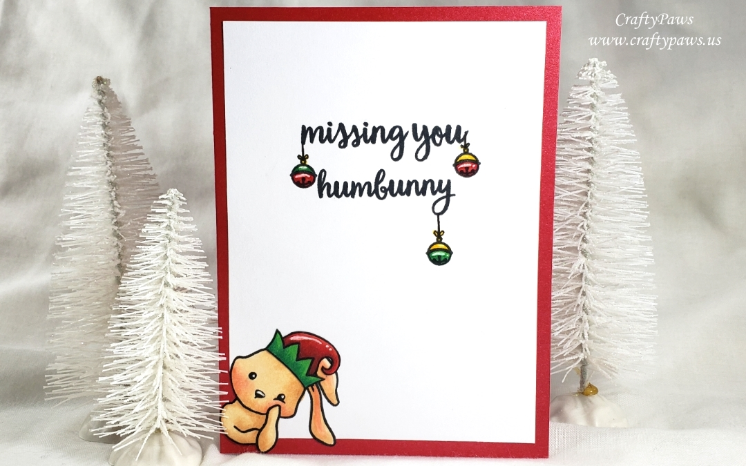 Missing You Christmas Card