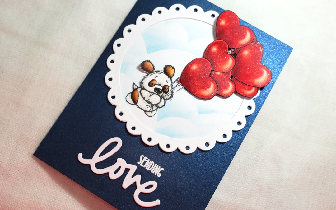 Valentine's Puppy Love Card